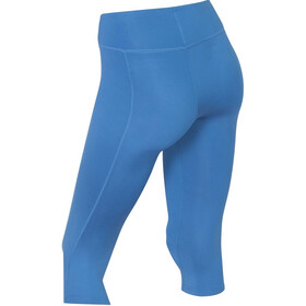 2XU Mid-Rise Compression 3/4 Tights Dam pacific blue/silver logo